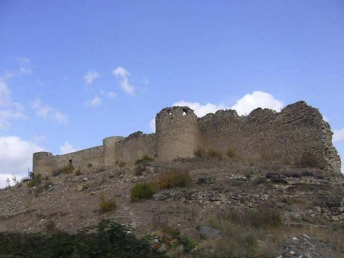 Agdam broken fort