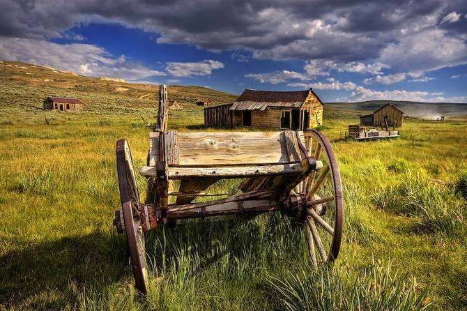 Bodie State Park abandoned