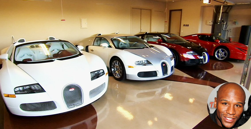 Floyd Mayweather cars collection