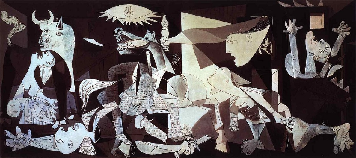 Guernica by Picasso painting