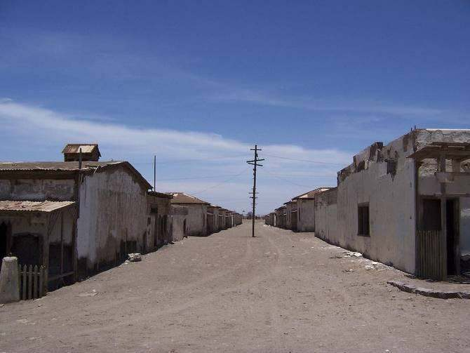 Humberstone chile roads