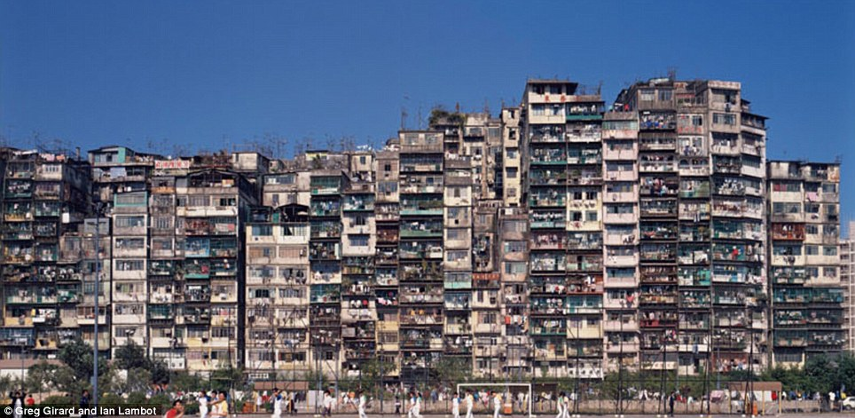Kowloon Walled City apartments