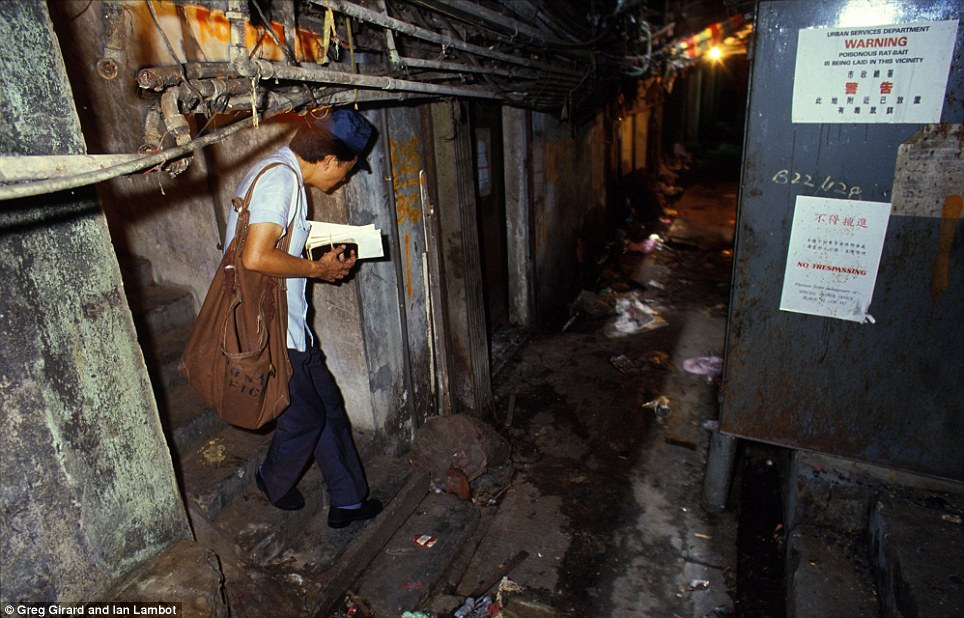 Kowloon Walled City mail man