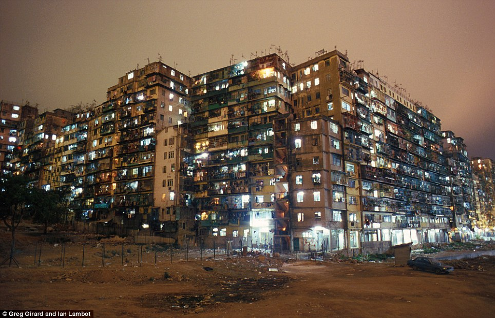 Kowloon Walled City ruins