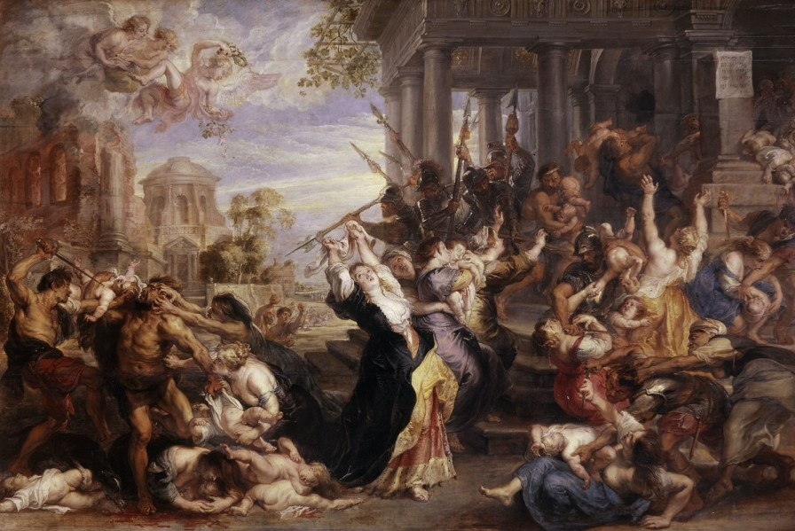 Massacre of the Innocents painting