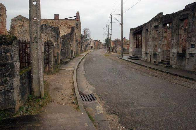 Oradour-sur-Glane destroyed village