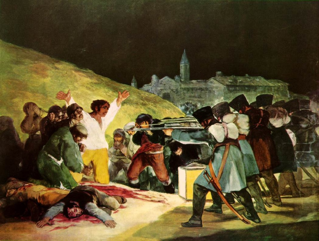 The Third of May francisco goya painting