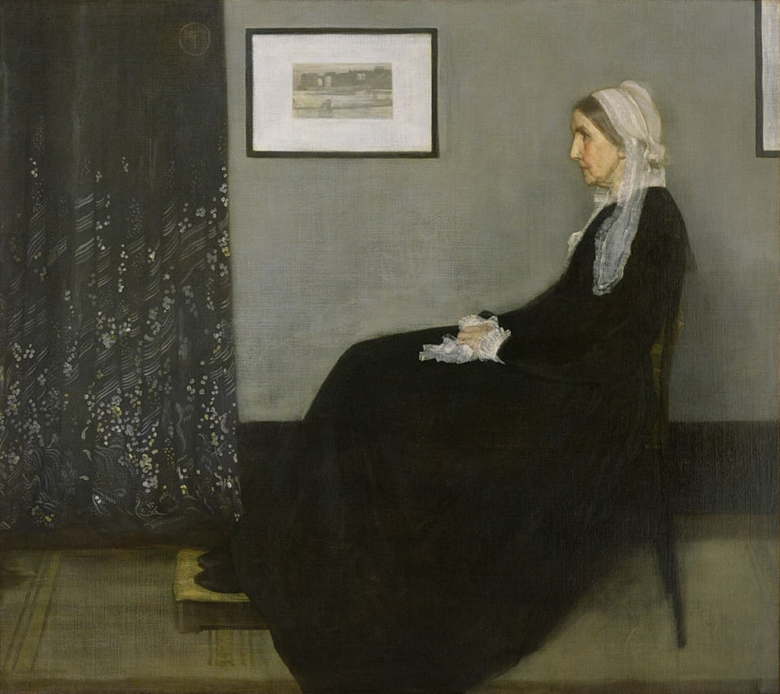 Whistler's Mother james mcneill whistler painting