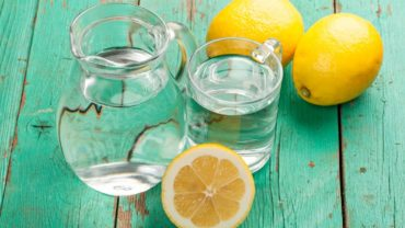 lemon water drink