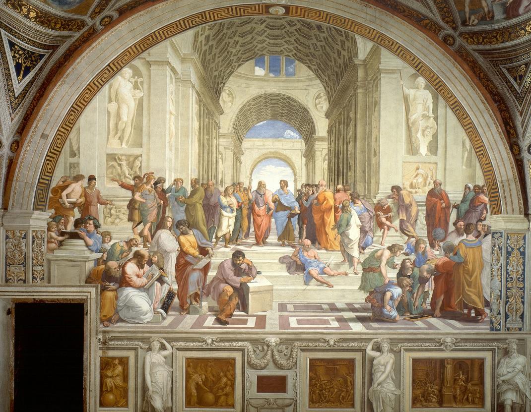school of athens raphael painting