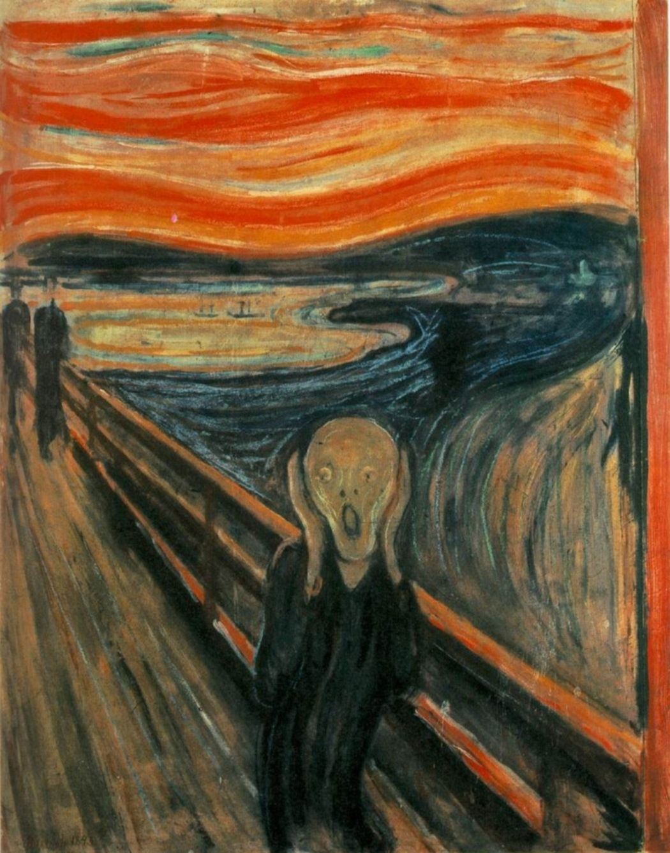 the scream edvard munch poster