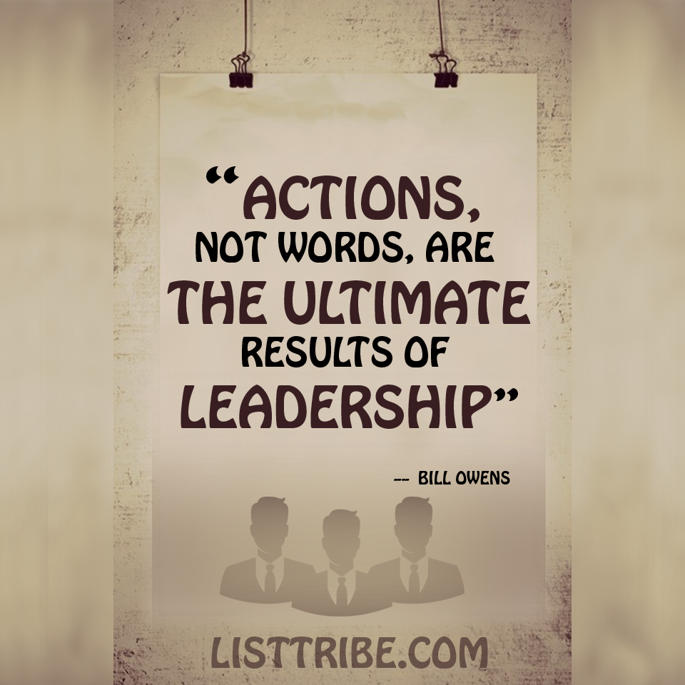 Inspirational Quotes From: 50 Famous And Inspiring Leadership Quotes
