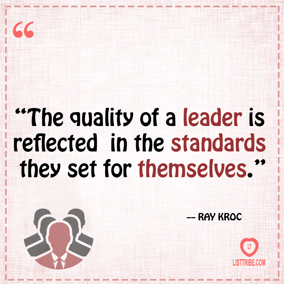 RARY's quote regarding the Leadership.