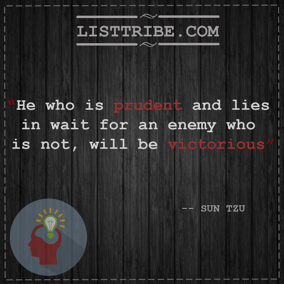 sun tzu'squote regarding the Leadership.