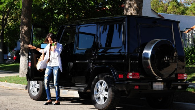 Ashley Tisdale Car