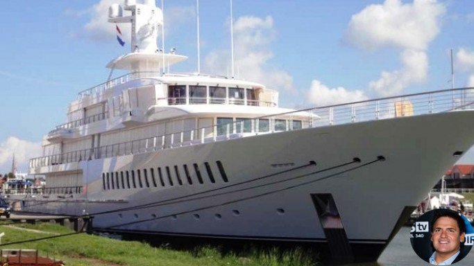 Mark Cuban Yacht