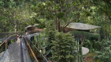 Mandai Resort treehouse