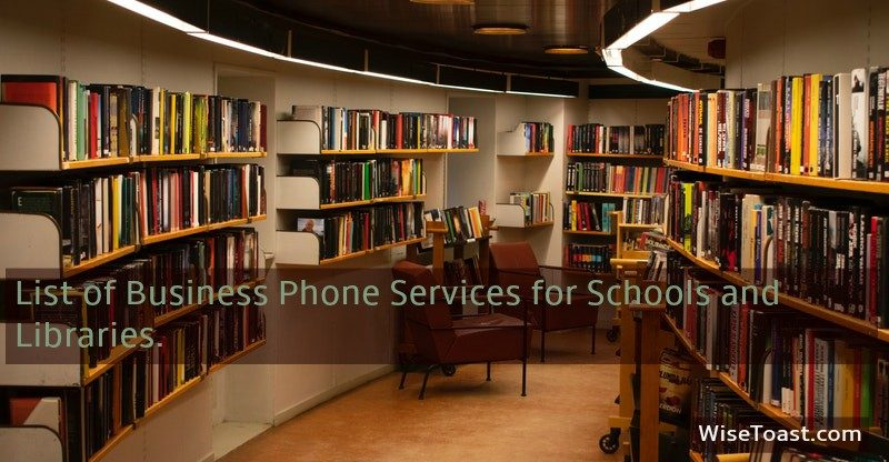 Business phone services for schools