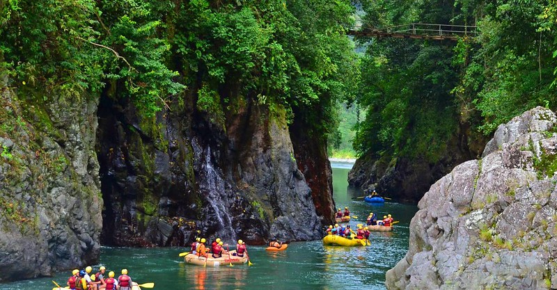 Pacuare River in Costa Rica Kayaking